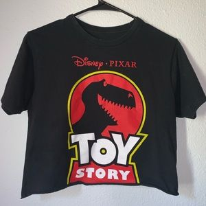 Toy Story crop top